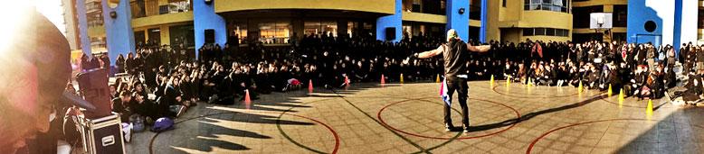 David in Large Chilean School