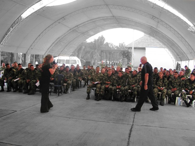 Michael-Woroniecki-Speaking-At-Military-Conference