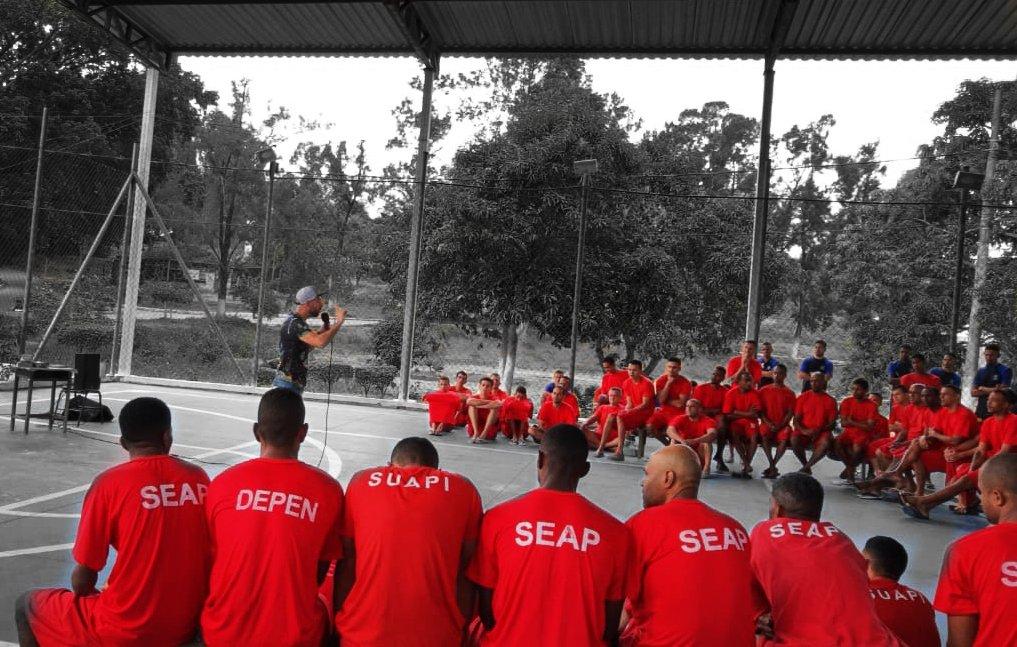 in South American prison